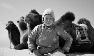モンゴル人女性