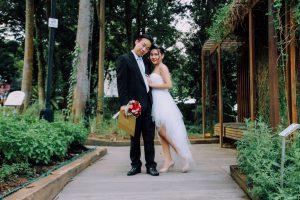 シンガポールのカップル