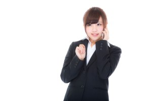 若い女性社員