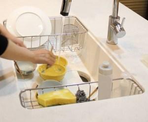 26皿洗い