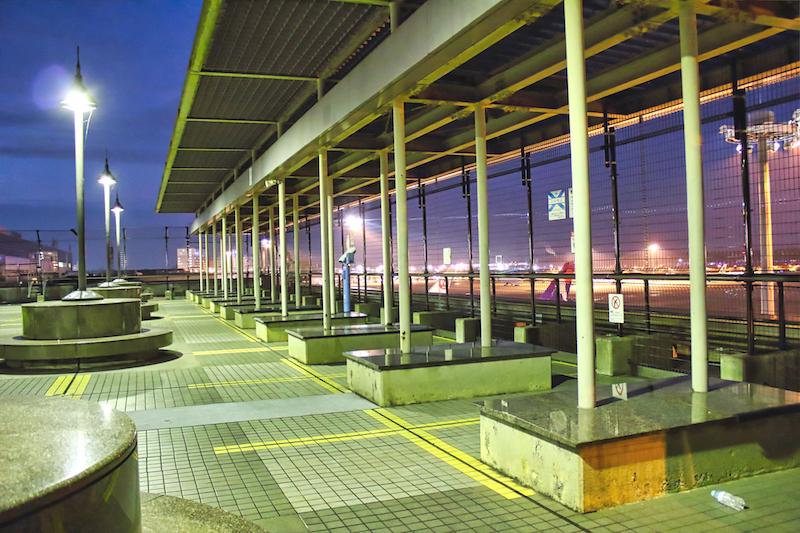 成田空港2 展望デッキ