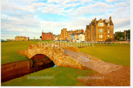The Swilcan Bridge, or Swilcan Burn Bridge, is a famous small stone bridge in St Andrews golf course,
