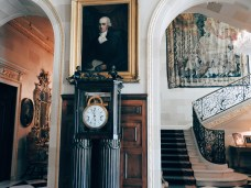 this clock once belonged to Marie Antoinette – one of the duPont ancestors was in the court of Louis XVI, and centuries later, Alfred somehow got ahold of this clock