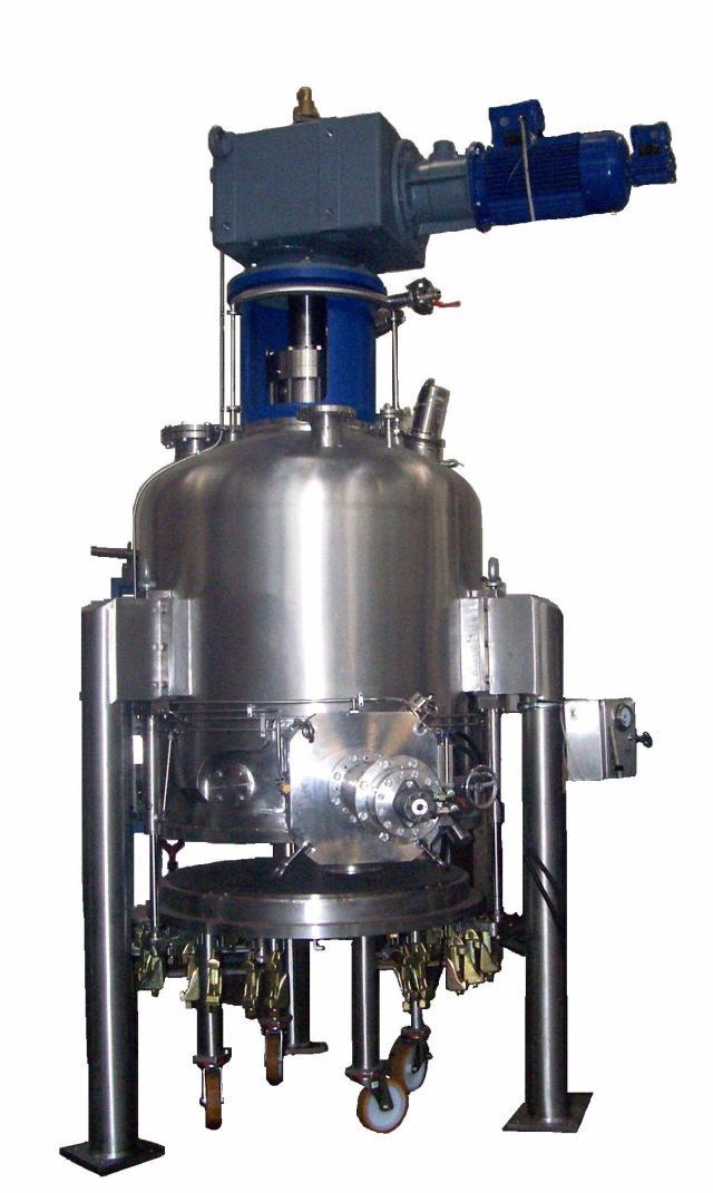 Vertical Vacuum Dryer