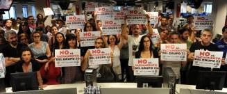 La Redacción de Clarín en apoyo a los compañeros del G23