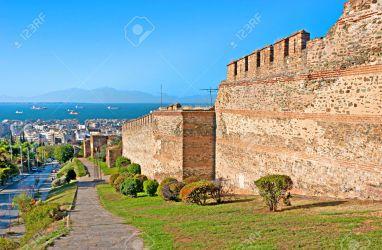 Les murs de Théssalonique, encore remarquablement conservés, ont été mon inspiration directe pour ma muraille au 1/72ème