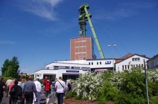 L'entrée de la mine à Merkers