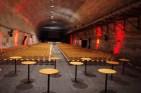 Salle de concert dans la mine