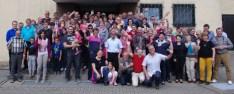 Une photo de groupe avant le retour en Normandie !
