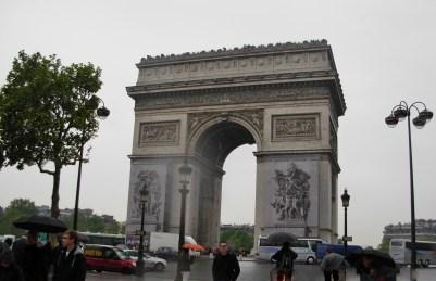 L'Arc de Triomphe à Paris ! 2010