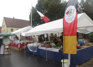 Présentation générale des deux stands au Marktfest ! !