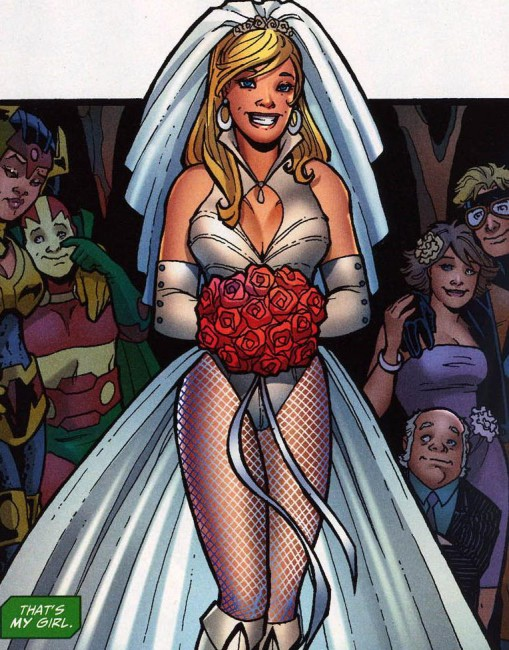 Green Arrow Black Canary Wedding