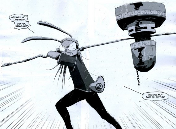 "Рецензия на комикс I Kill Giants (""Я убиваю великанов"")"