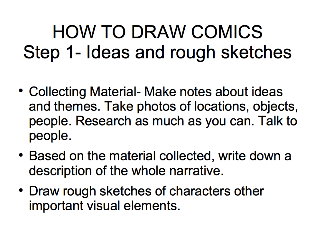 How to draw comics-01