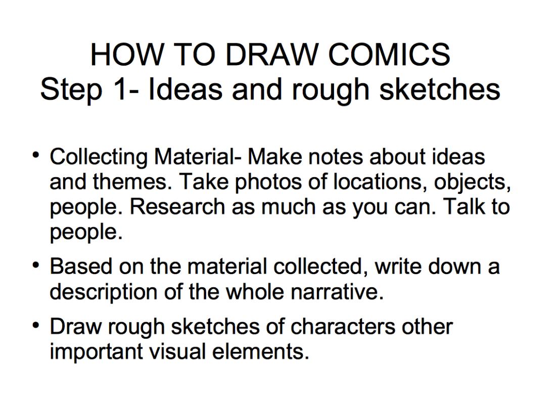 How to draw comics-01