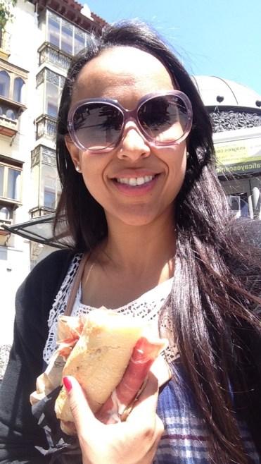 Sanduíche de jamon
