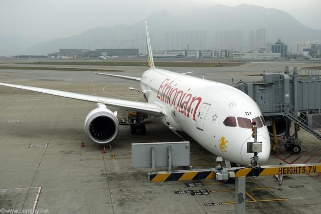 エチオピア航空B787