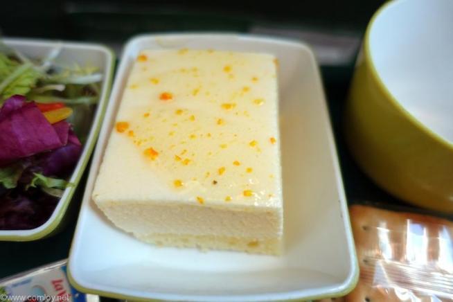 レモン風味のケーキ。
