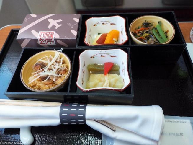 JAL919 羽田-沖縄 国内線ファーストクラス機内食