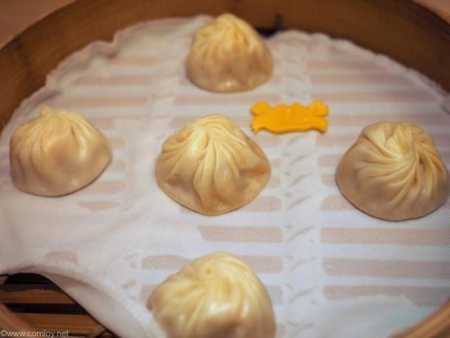 鼎泰豊(本店) 蟹味噌入り小籠包 5個/175NTD