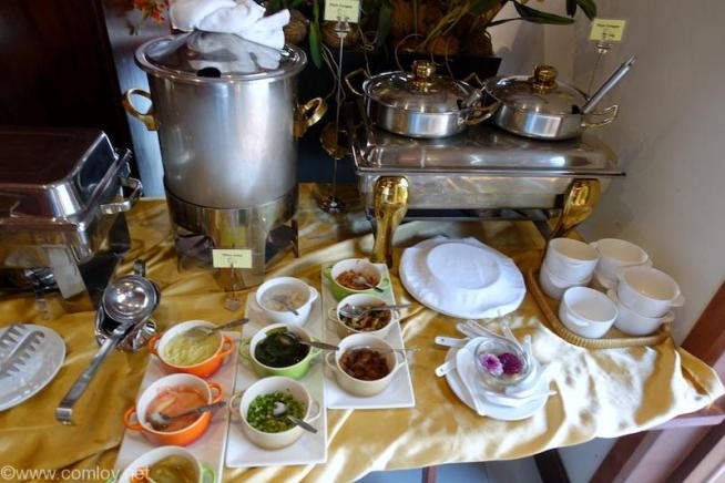 Salana Boutique Hotel,Vientiane朝食