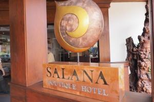 Salana Boutique Hotel,Vientiane入り口