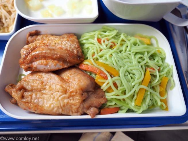 バンコクエアウェイズ PG942 ルアンパバーンーバンコク エコノミークラス機内食