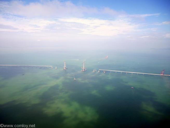 マカオ-香港間の橋の建設中?