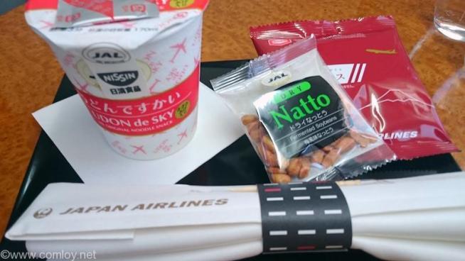 日本航空 JAL916 沖縄-羽田 国内線ファーストクラス機内食