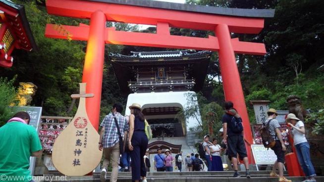 江ノ島神社も、、