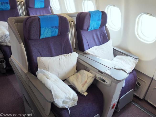 マレーシア航空 MH89 座席