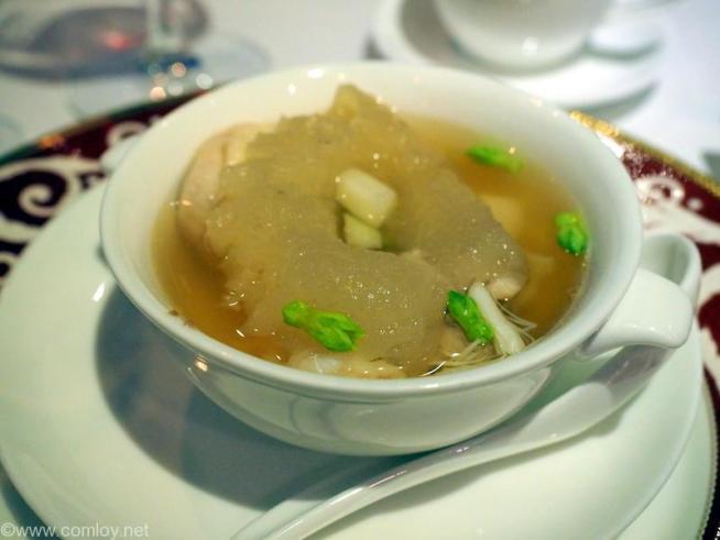 阿一海景飯店 冬瓜のスープ