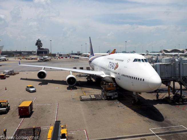 タイ航空 TG601 ボーイング747