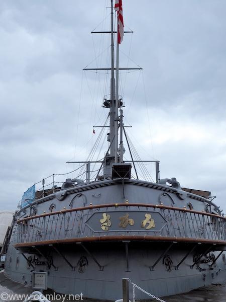 三笠公園の記念艦「三笠」