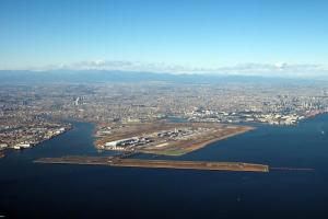 上空からの羽田空港
