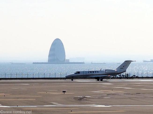 羽田空港 D滑走路 プライベートジェット