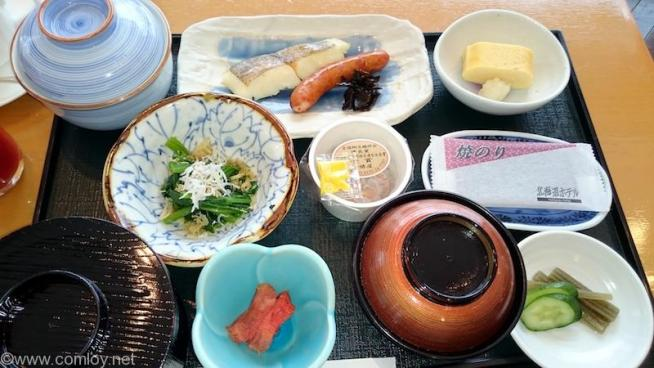 北海道ホテル 和朝食 1日目