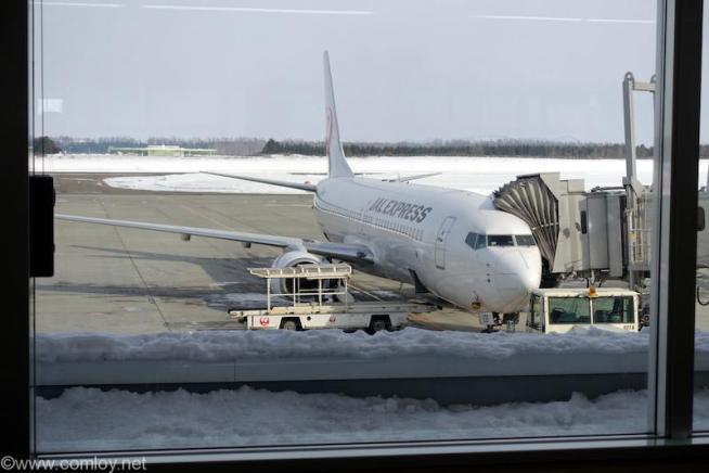日本航空 JAL1154 とかち帯広 - 羽田