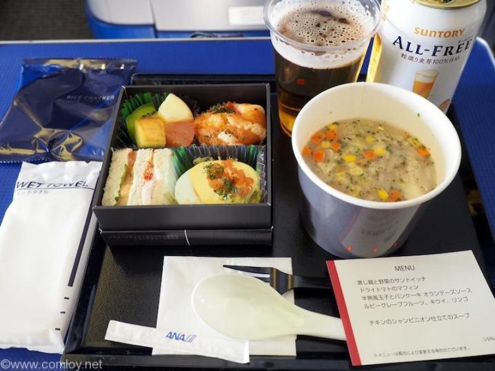 NH463 羽田 - 沖縄 プレミアムクラス機内食