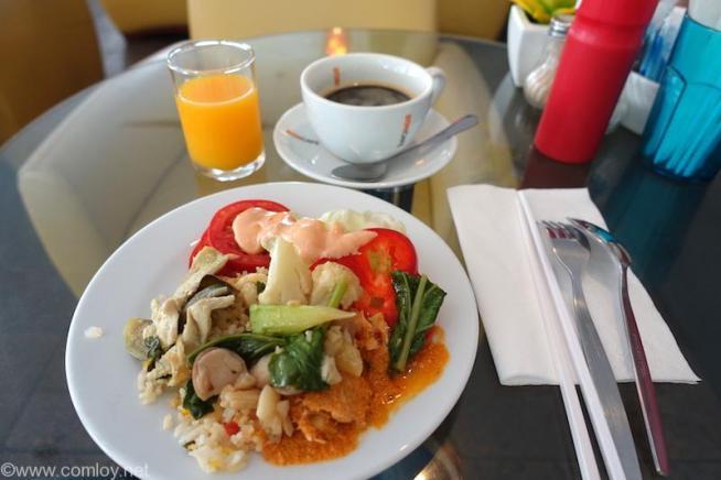 ADMIRAL SUITES朝食 2日目の朝食