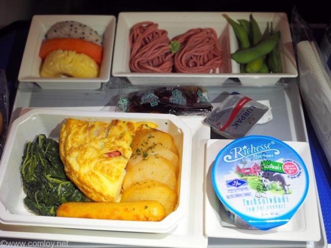 NH850 バンコク - 羽田 プレミアムエコノミー機内食