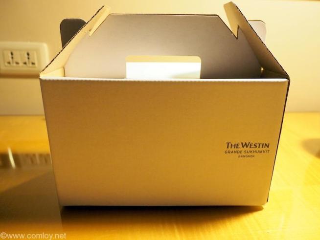 THE WESTIN GRANDE BANGKOK 朝食ボックス