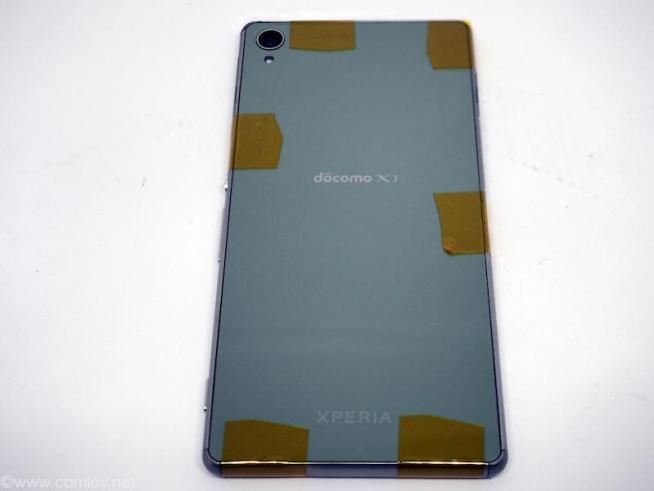 Xperia Z3 電池交換後
