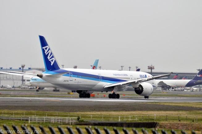 全日空 ( All Nippon Airways ) B787-9 機体番号 JA875A B787-9 型式Boeing787-9 製造番号34531/370 登録2015/11