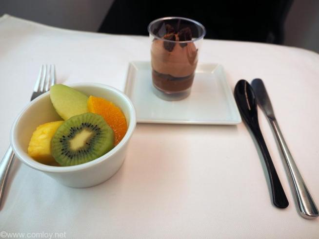 NH807 成田-バンコク ビジネスクラス 機内食