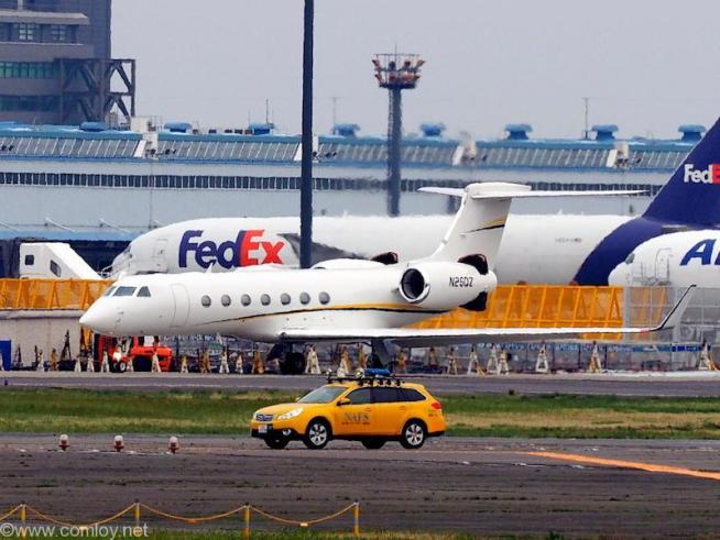 Gulfstream Aerospace G-V-SP Gulfstream G550 機体番号N260Z 製造番号5522