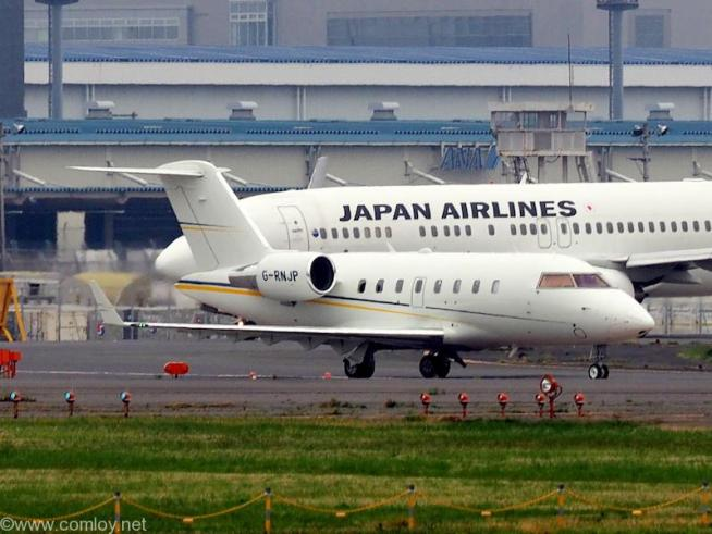 TAG アヴィエーション - TAG Aviation Bombardier CL-600-2B16 Challenger 605 機体番号G-RNJP 製造番号5980