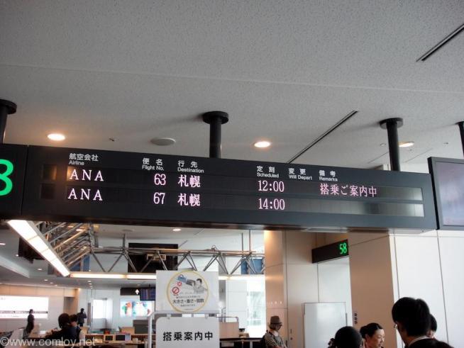 ANA63 羽田 - 札幌