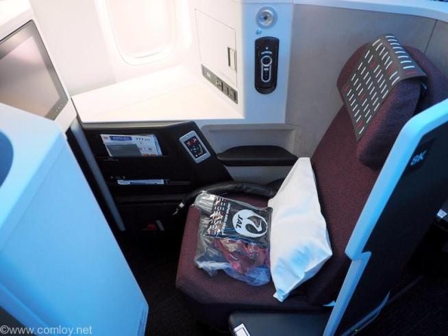 JAL ビジネスクラス SKY SUITE 3 シート
