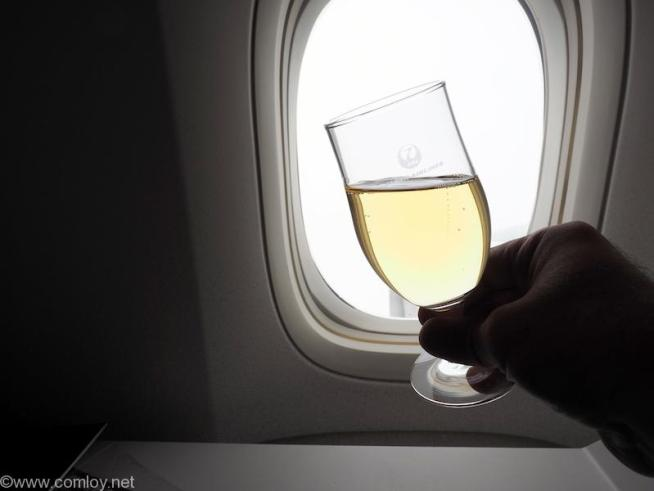 日本航空 JL31 羽田 - バンコク ビジネスクラス 機内食